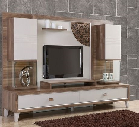 44 Modern TV wall units - unique living room TV cabinet designs 2019