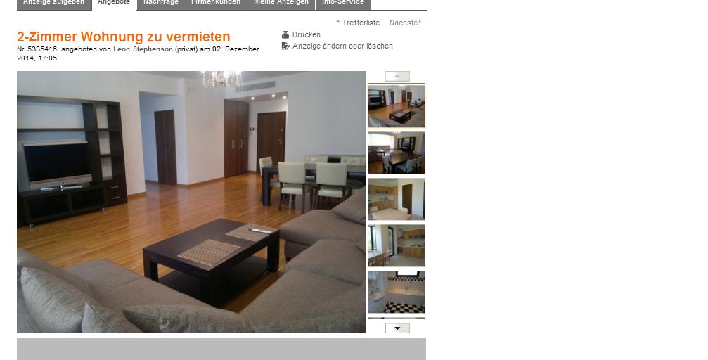 Rampling773 alias for Wohnung zu vermieten