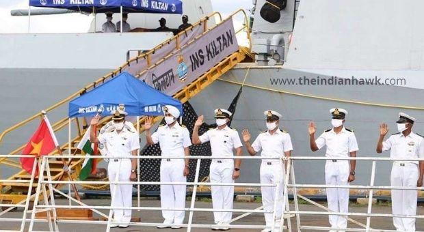 India-Vietnam Navy in Ocean
