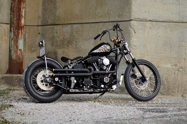 Harley Davidson By Kid Custom Factory Hell Kustom