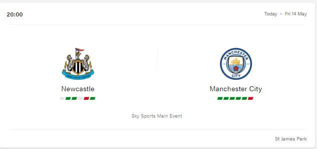 Newcastle vs Manchester City Predictions