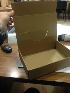 caja expositora con tapa