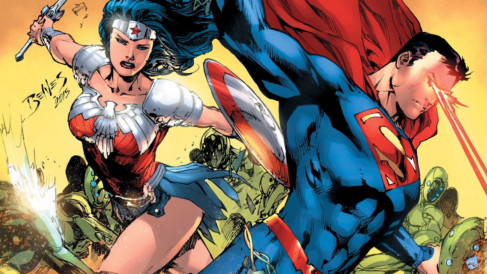Superman And Wonder Woman New 52