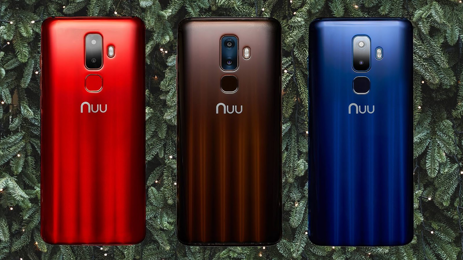 Inspired by Savannah: NUU Mobile Launches G1 Smartphone