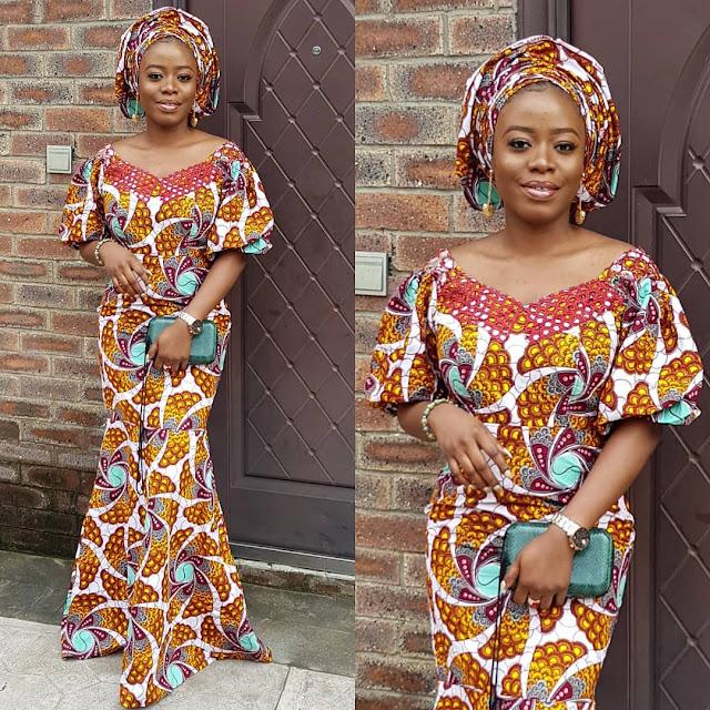 The 20 Best of Owambe Aso Ebi Dresses 11