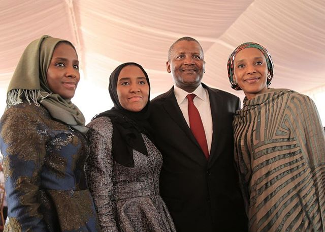 aliko dangote daughters