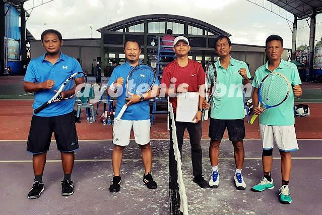Hasil Sementara Tenis Seduluran Selawase
