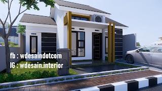 Rumah Minimalis 3 Kamar Tidur 1 Lantai Desain Rumah Minimalis