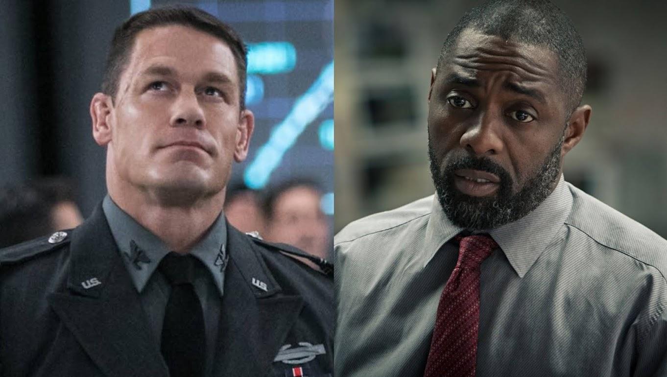 John Cena e Idris Elba