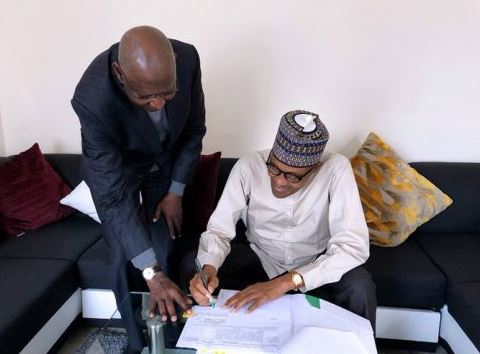 Buhari assents to amended Deep Offshore Act in London
