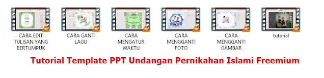 Download Template PPT Undangan Pernikahan Islami Freemium