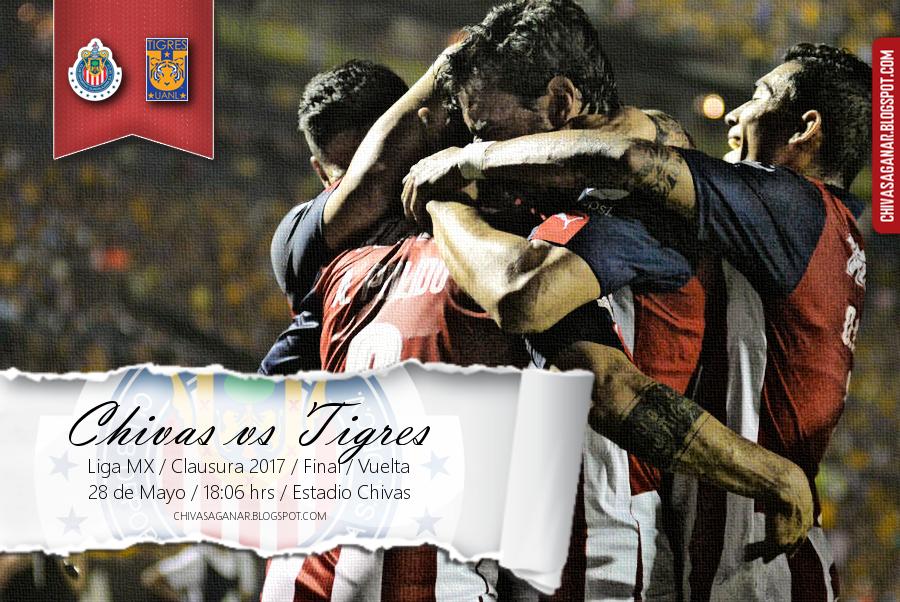 Liga MX : CD Guadalajara vs CF Tigres UANL - Clausura 2017 - Final - Vuelta.