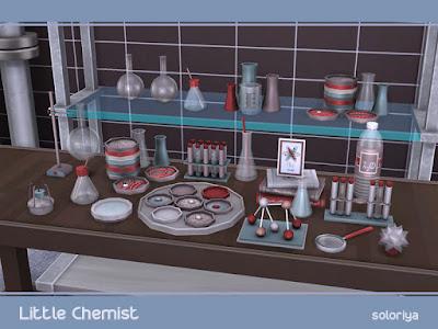 Лаборатория — наборы мебели и декора для Sims 4 со ссылками для скачивания