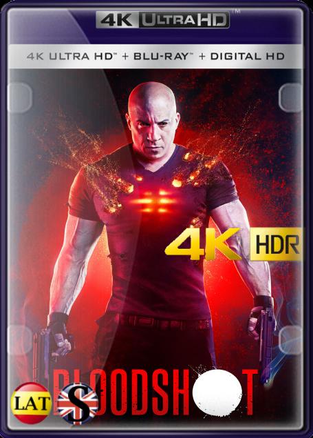 Bloodshot (2020) 4K UHD HDR LATINO/INGLES