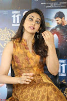 Rakul Preet Singh smiling Beautyin Brown Deep neck Sleeveless Gown at her interview 2.8.17 ~  Exclusive Celebrities Galleries 100.JPG