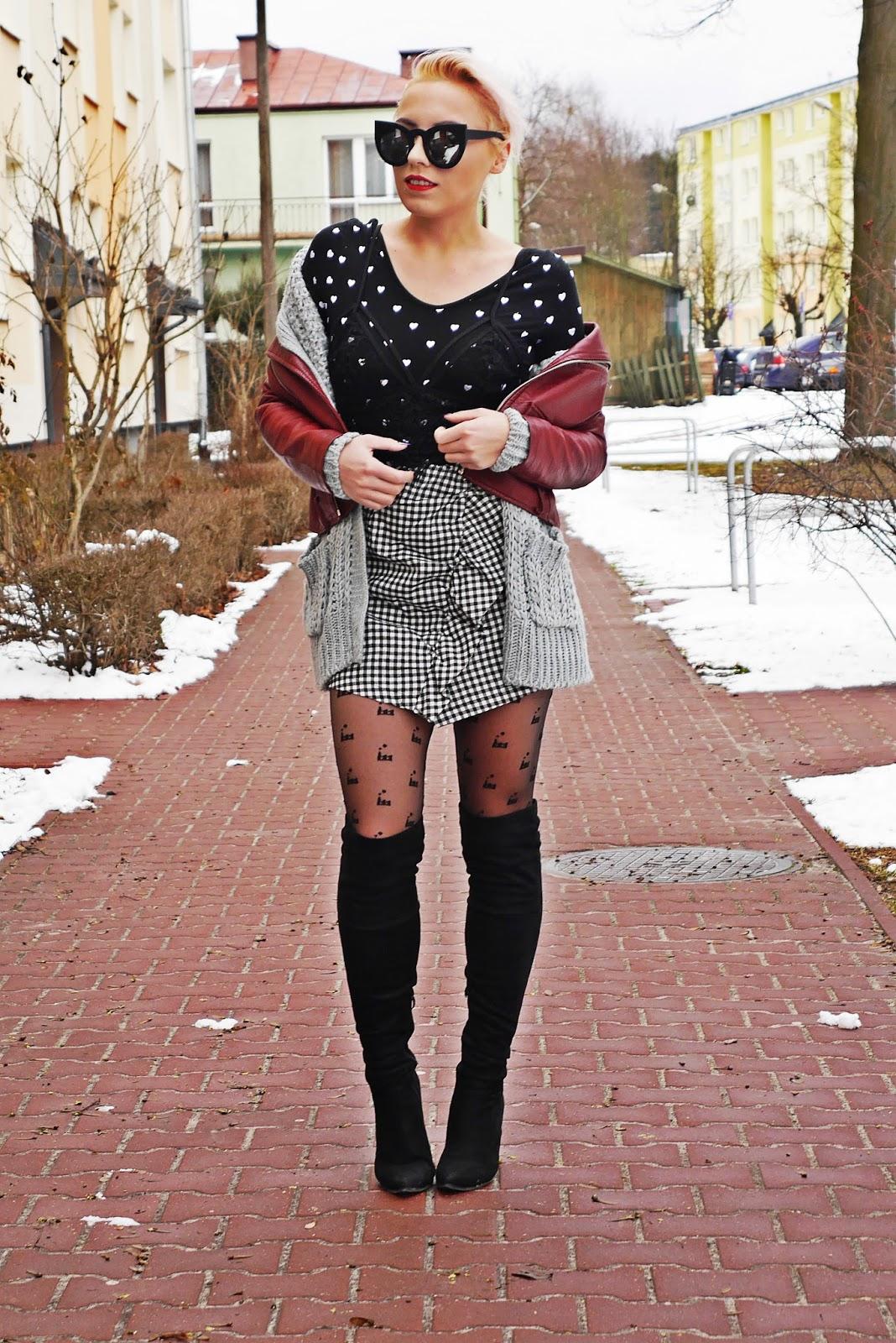 spodnica_w_karte_kozaki_za_kolano_bordowa_ramoneska_karyn_look_280217