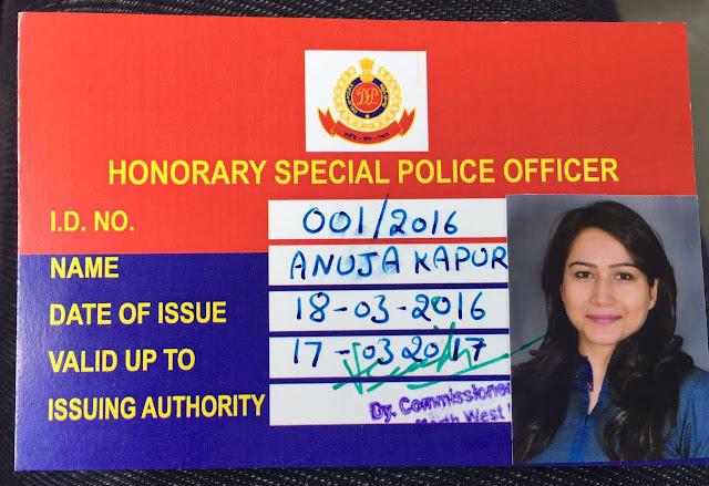 Criminal Psychologist Anuja Kapur appointed as Special Police Officer for Delhi Police