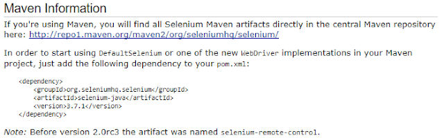 Basic guide in Webdriver -How integrate Selenium with Maven