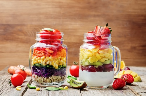 Fruit salad in a new way