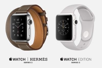 Bandingkan model Apple Watch