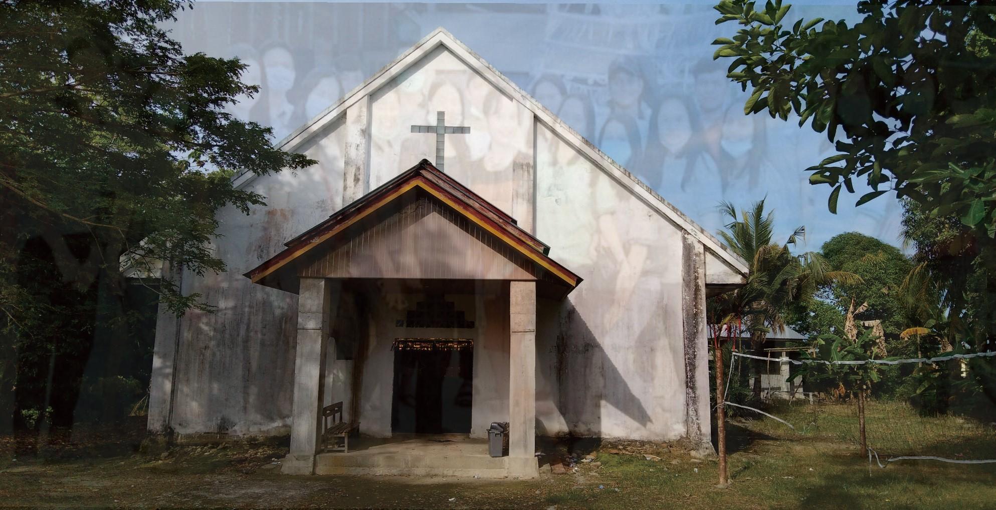 Gedung Gereja Jemaat Silo Rante Lara