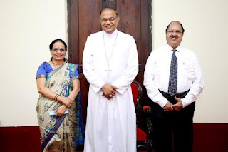 Bishop Visited Bank Of Baroda Mangaluru Office | ಬ್ಯಾಂಕ್ ಆಫ್ ಬರೋಡಾಗೆ ಶುಭ ಹಾರೈಸಿದ ಮಂಗಳೂರು ಬಿಷಪ್