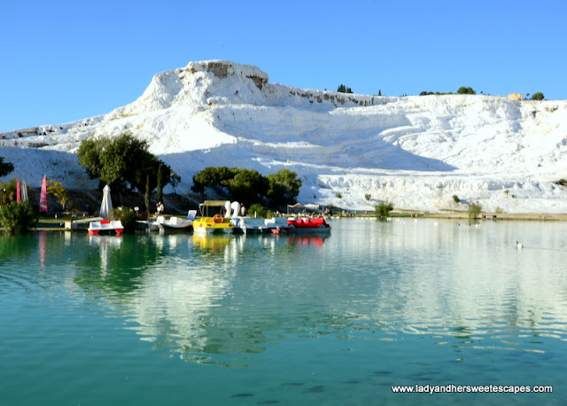 stunning scenery at Pamukkale Natural Park