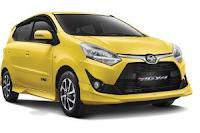 Daftar Harga Atau Pricelist Toyota Agya Bandung