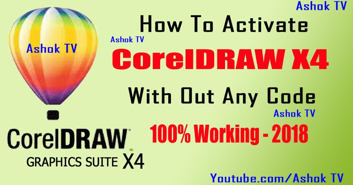 keygen corel draw x4 2017