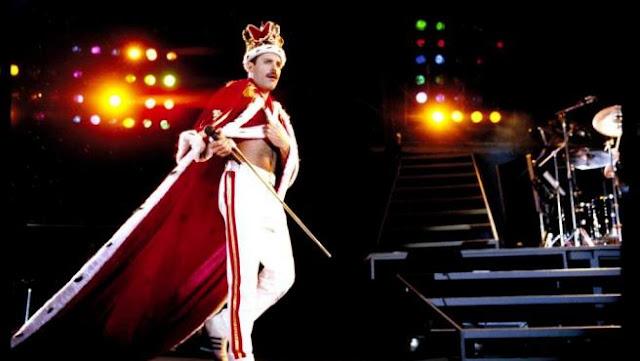 Freddie Mercury, cantante de Queen