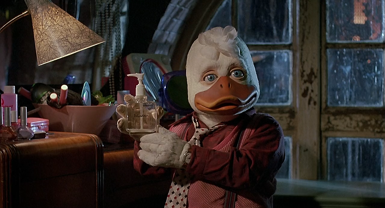 they serve popcorn in hell howard the duck