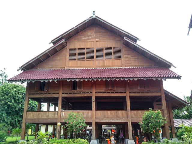 rumah adat malige atau kamali