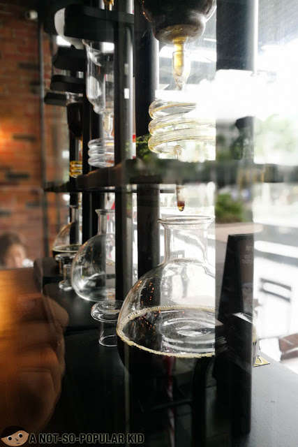 Cold drip brew in Luna Cafe, BGC