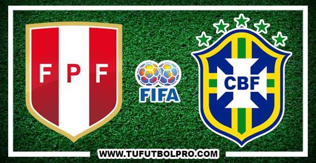 Ver Perú vs Brasil EN VIVO Por Internet Hoy 15 de Noviembre 2016