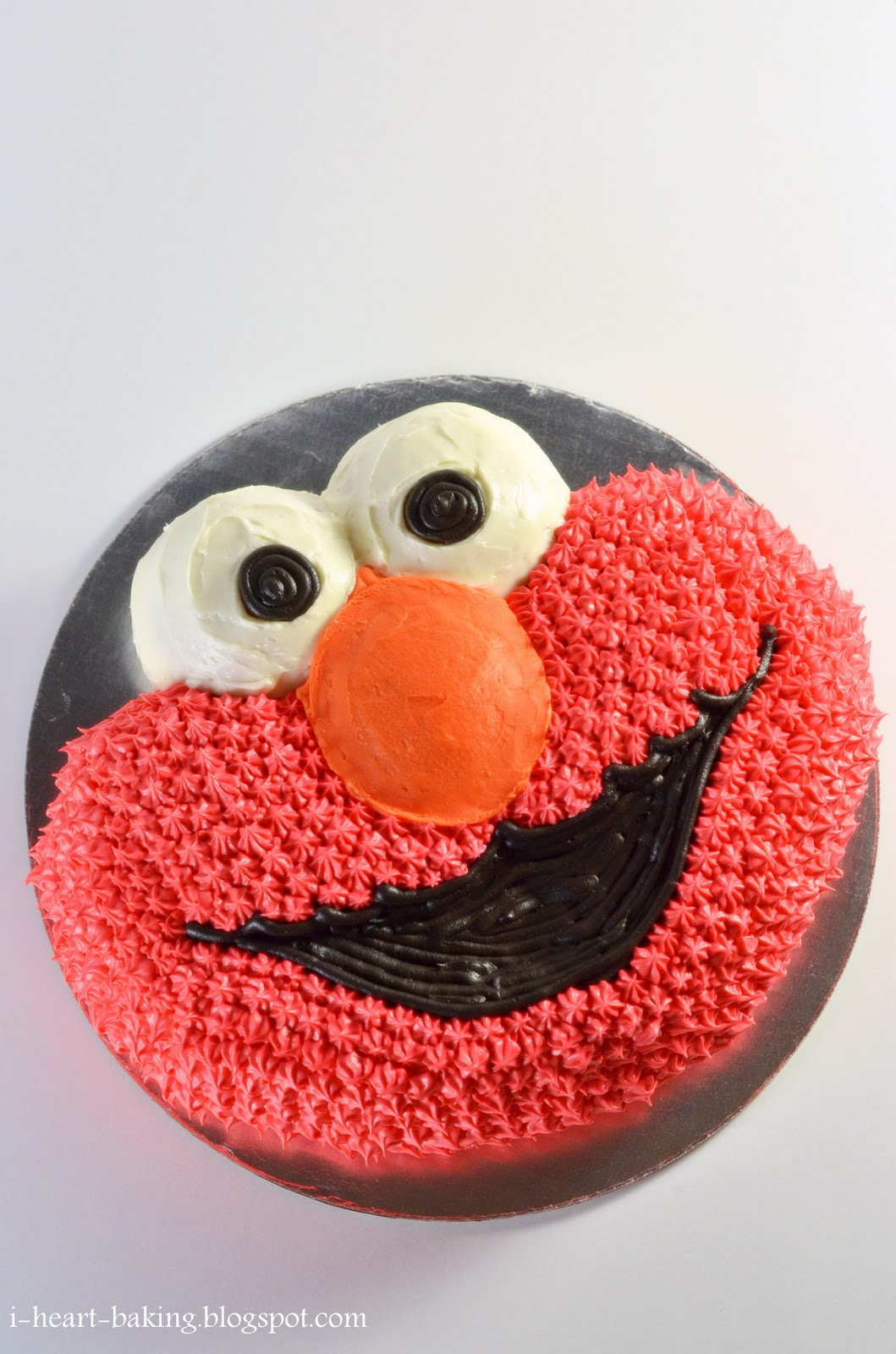 I Heart Baking Elmo Cake