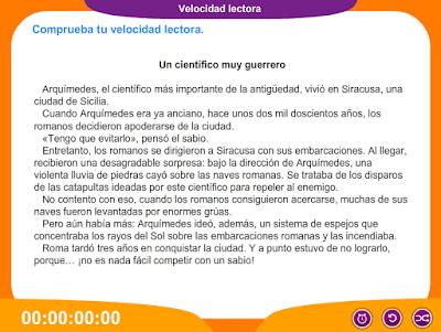 http://www.ceiploreto.es/sugerencias/juegos_educativos_4/Velocidad_lectora/index.html