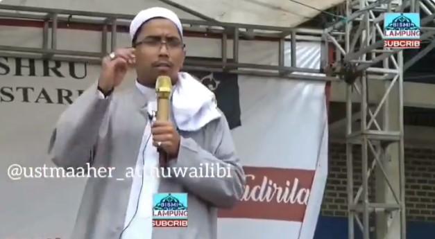 Dipolisikan, Ustadz Maaher: Saya Jelaskan Fikih Bukan Ajak Bunuh Abu Janda