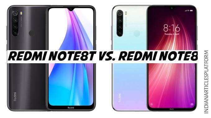 Redmi note8T Vs. Redmi note8   यह है एकमात्र बदलाव...