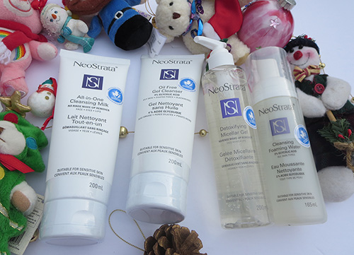 Cleanse Your Skin This Holiday Season with Four Fantastic NeoStrata Cleansers ~ #Review #Giveaway #2016GiftGuide
