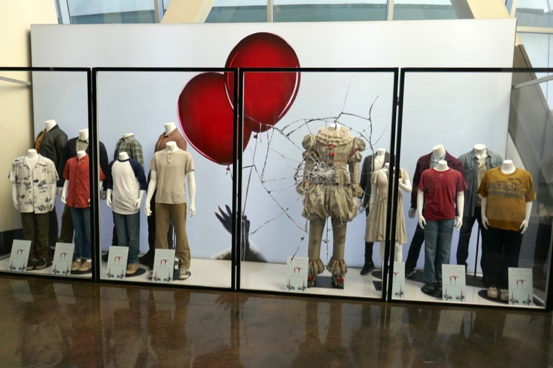 IT Chapter Two movie costume exhibit ArcLight Hollywood