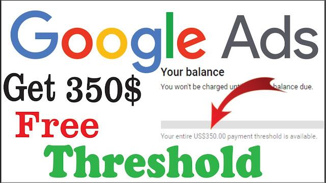 adwords free $350 threshold