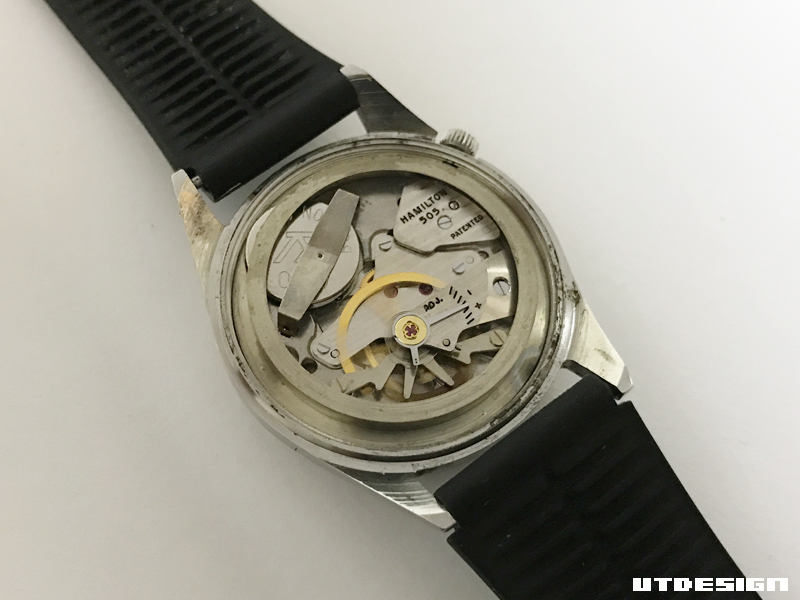 new styles 670ca a6c88 UTDESIGN: HAMILTON-RICOHのビリビリした時計