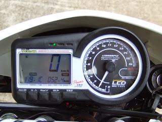 xr100モタード SP武川 スーパーマルチLCDメーター