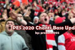 Chants Base Update V5 - PES 2020