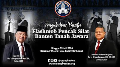 PUB Melantik Panitia Flashmob Pencak Silat Banten Tanah Jawara