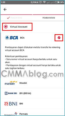 Cara Belanja di Bukalapak Bayar Via Transfer BCA Virtual