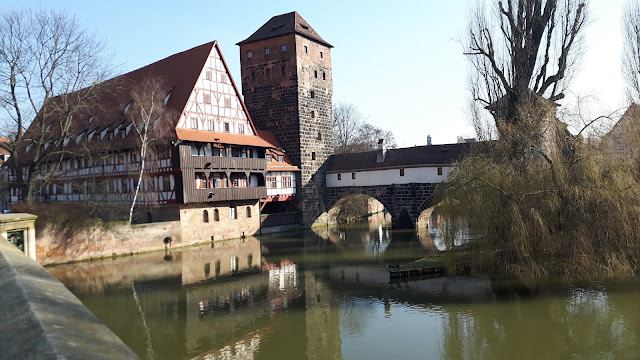 By the river in Nuremberg