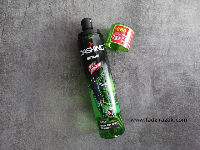 Dashing Deo + Perfume Body Spray