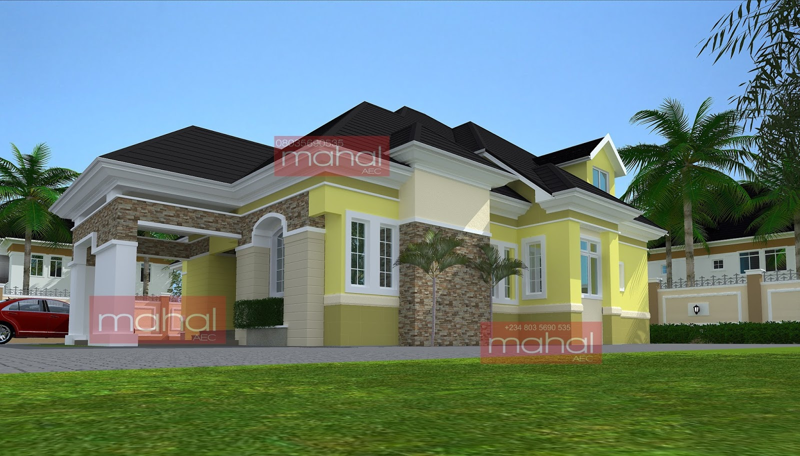 Contemporary Nigerian Residential Architecture Iyeu Otuo