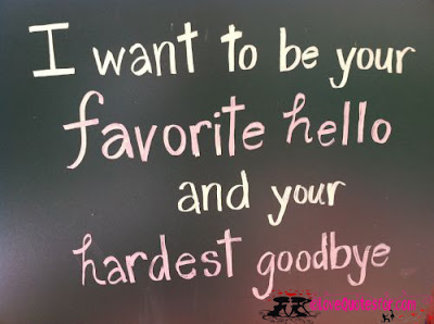 cute Quotes For Parents: i want to be your favorite hello